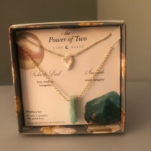 Luna Norte Necklace Set The Power of Two HTF